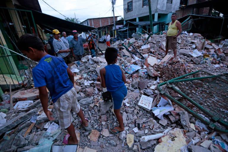 Ecuador Earthquake: 77 Killed, Hundreds Injured