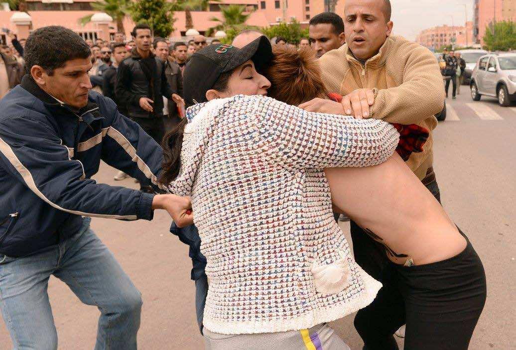 Femen in Beni Mellal