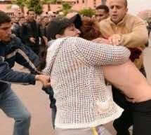 Video: Moment Moroccan Police Arrest FEMEN Activists in Beni Mellal