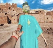 """Followmetraveller"" Posts New Picture of Couple in Kasbah in Morocco"