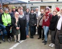 Group of Germans Visit Mosque to Know About Islam