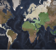 Video: How Christianity and Islam took over the world, in 90 seconds