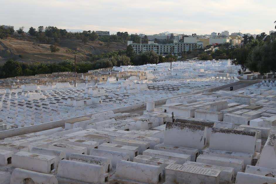 Jewish cemetery in Fez, Morocco