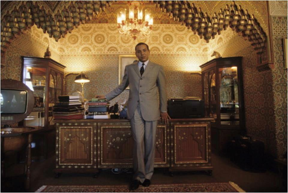 KIng Mohammed VI as a grown up addult t his office