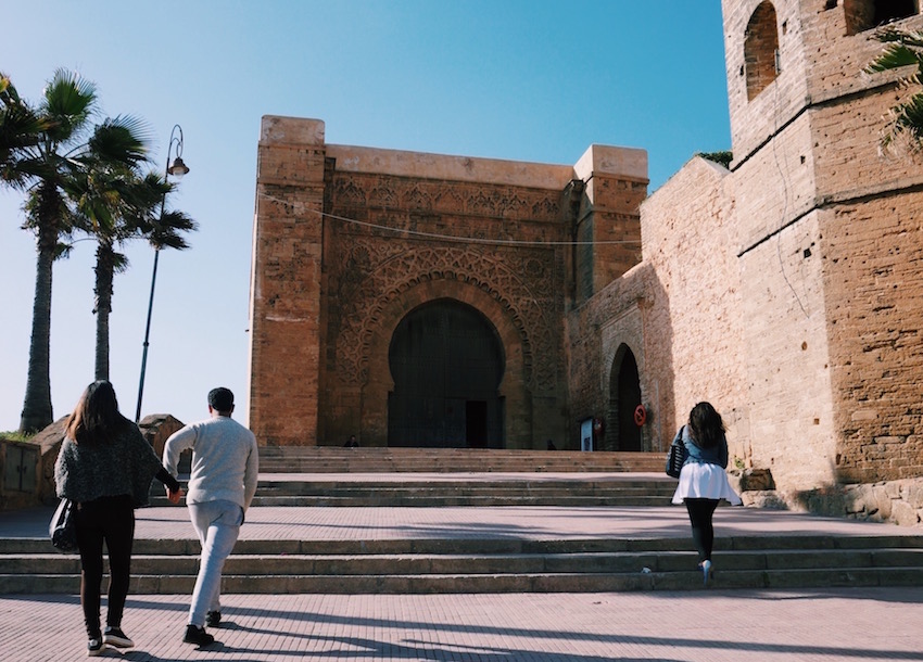 Kasbah of the Udayas. Photo by Emma Julia Vos
