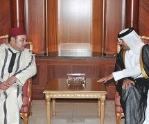King Mohammed VI  thanks  Emir of Qatar After Visit To Doha