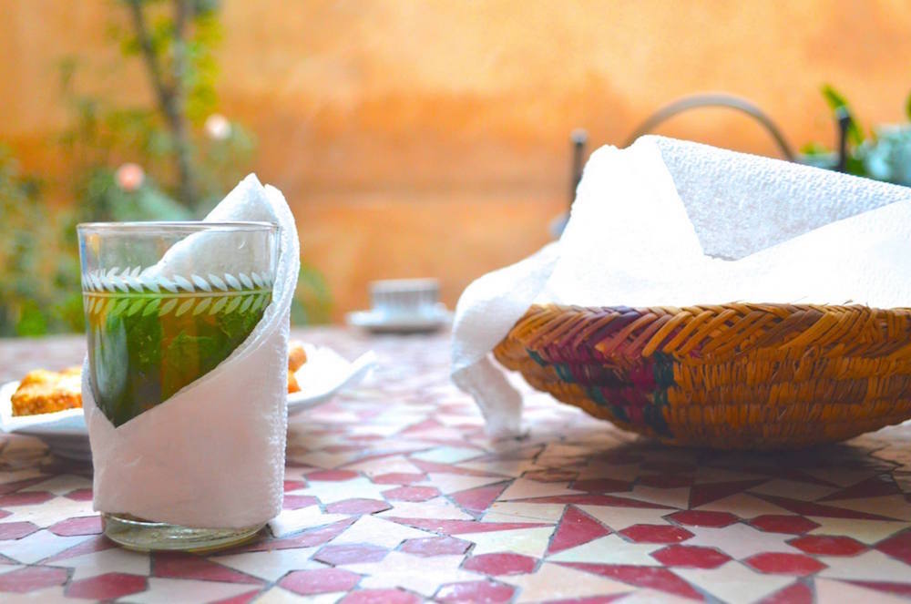 Moroccan Mint Tea. Photo by Jack Stanvsek