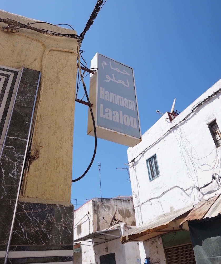 Moroccan hammam experience
