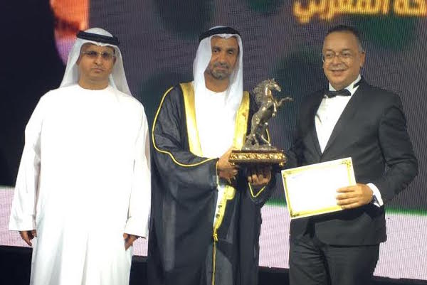 Morocco's Minister of Tourism Lahcen Haddad Wins 2015 Tourism Personality Award