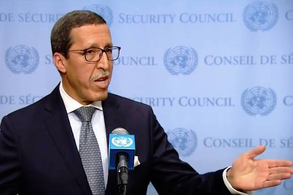 Omar Hilale, Morocco's Permanent Representative to the United Nations,