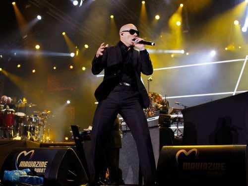 Pitbull At Mawazine Festival…. Again