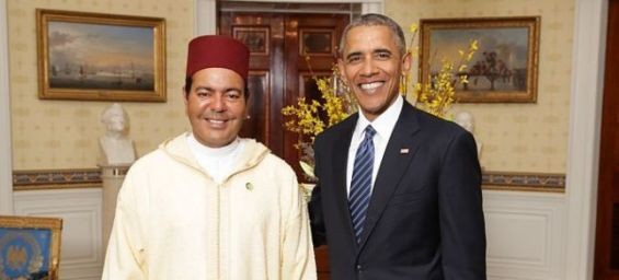 Prince Moulay Rachid Takes Part in Dinner Offered by Barack Obama