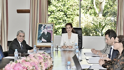 Princess Lalla Salma Chairs Board of Directors of Lalla Salma Foundation for Cancer