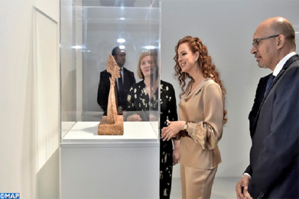 Princess Lalla Salma on Monday inaugurated the retrospective exhibition of Alberto Giacometti at the Mohammed VI Museum of Modern and Contemporary Arts in Rabat