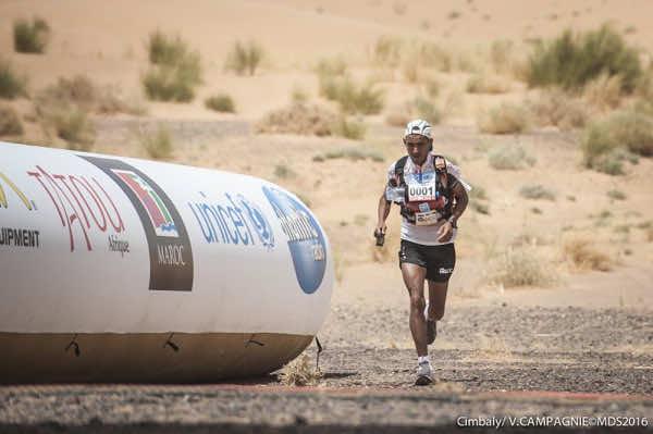 Rachid Elmrabti Wins Marathon des Sables 2016