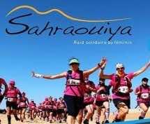 Sixty International Women at Start Line of Sahraouiya Rally in Dakhla