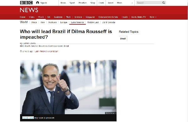 'Mezouar May Be Next Brazil's President,' According to BBC