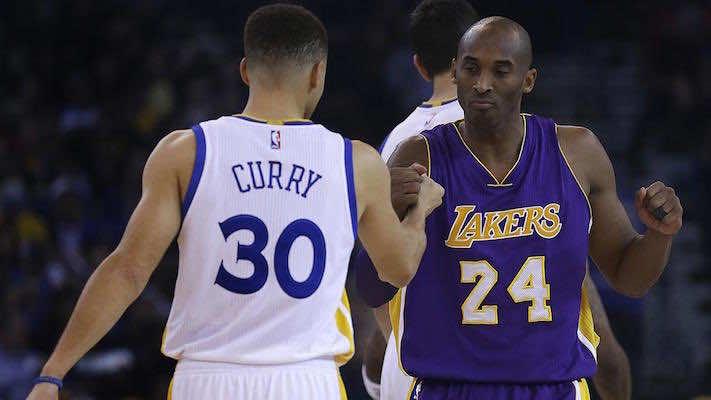 Warriors Break Records on Kobe's Farewell Night
