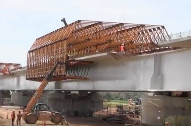 World's Longest Bridge Supporting High Speed Rail Lines Being Built in Morocco