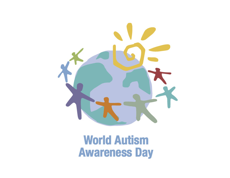 World Lights Up for Autism Awareness Day