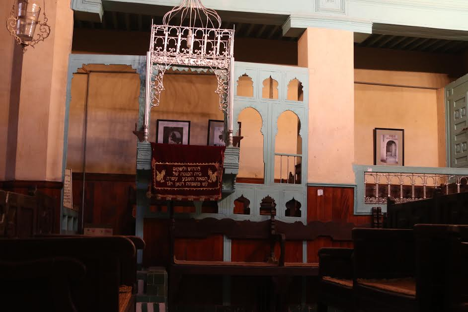 jewish synagogue in Fez, Morocco