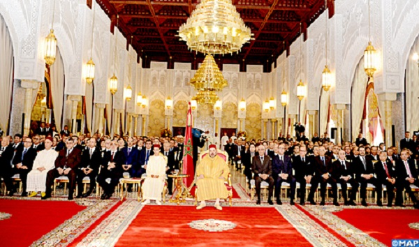 Morocco's King Chairs in Rabat Launch Ceremony of New Renault Group's Project
