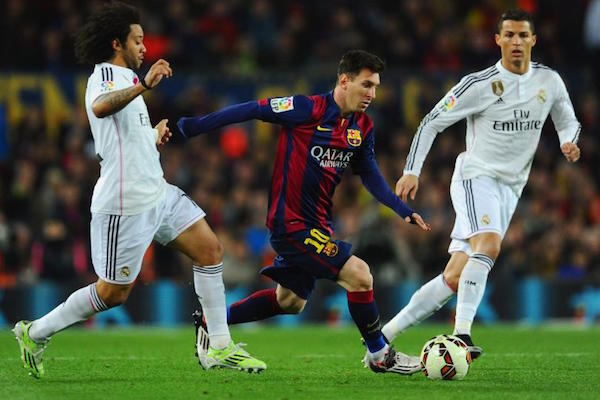 the 172nd edition of El Clasico - the twice yearly football game that pits Real Madrid against the Football Club of Barcelona.