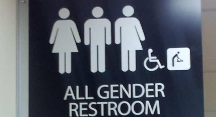 All transgender rest room