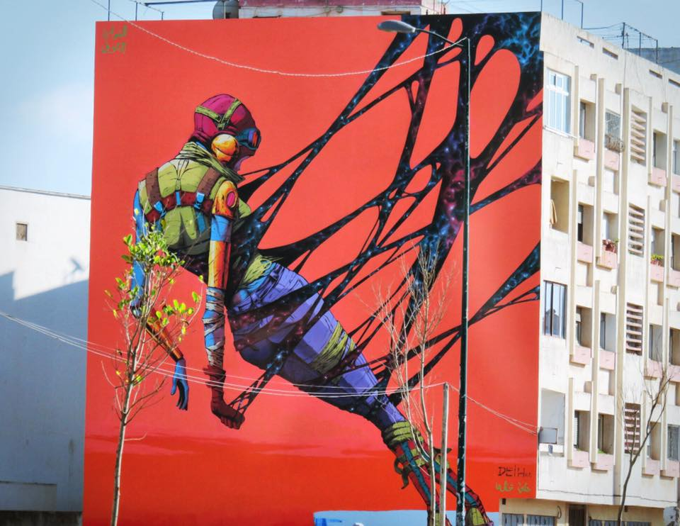 In Pictures: Rabat Walls Transform into Street Canvases