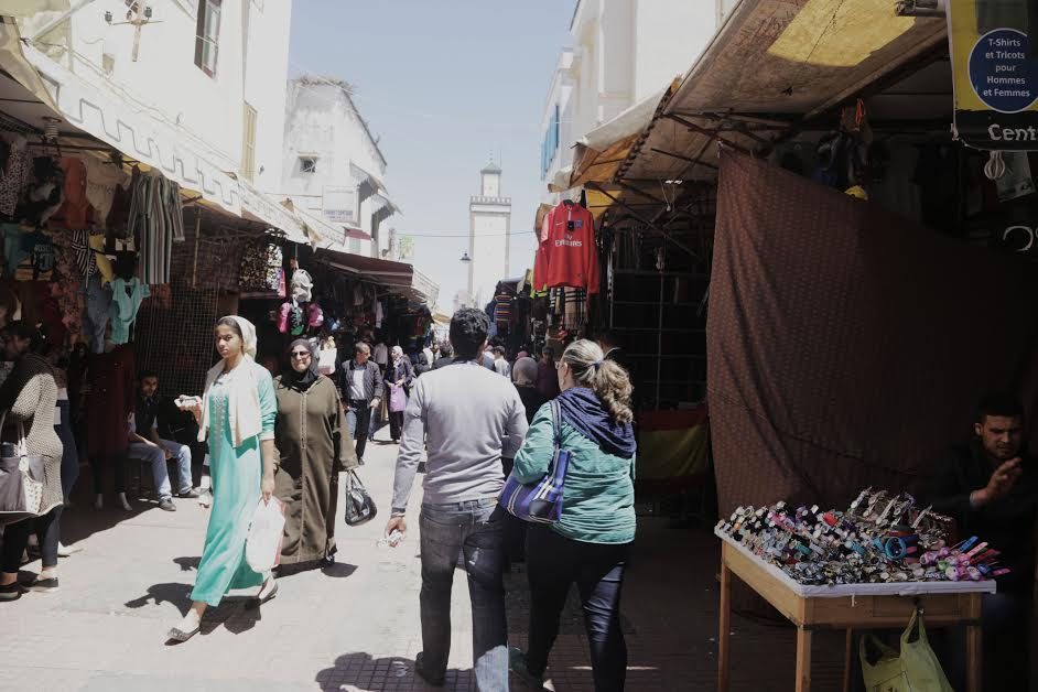 Deep inside Rabat Medina. Photo by Maroua Errai/MWN