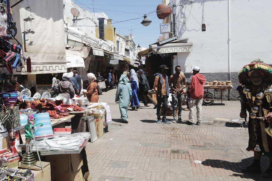 Deep inside Rabat Medina