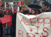 Demonstration in Boston to Denounce Assad's Bloodshed in Aleppo