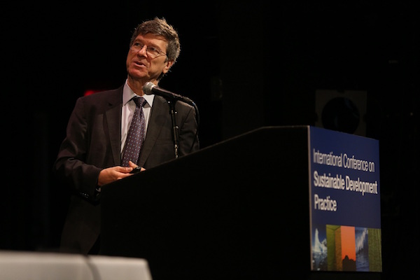 Director of the Sustainable Development Solutions Network, Jeffrey Sachs