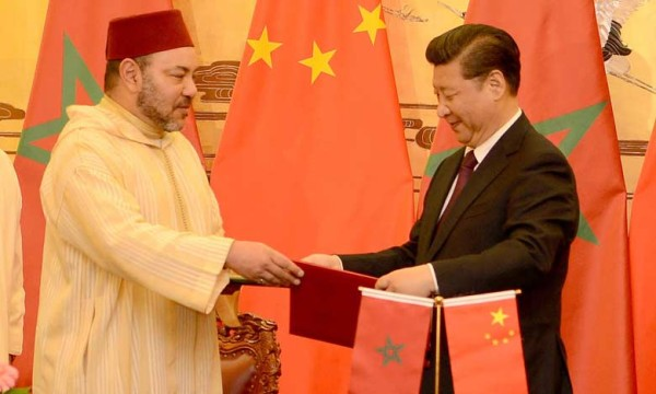 King Mohammed VI, and Chinese President Xi Jinping