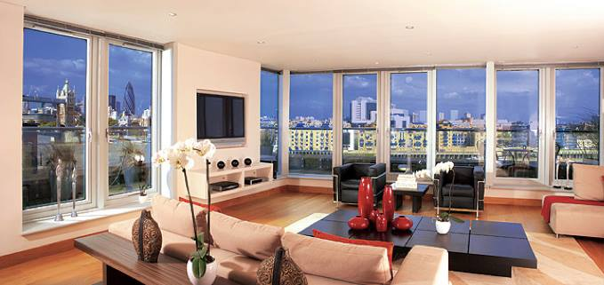 Luxury apartments in Central London, UK