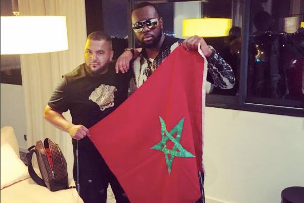 Maître Gims' Photo Holding Moroccan Flag Goes Viral