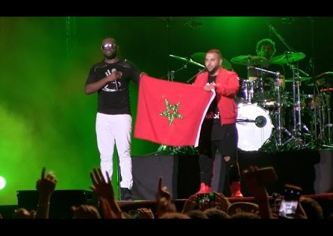 Maitre Gîms Leads Mawazine Festival Audience in Singing Moroccan Anthem