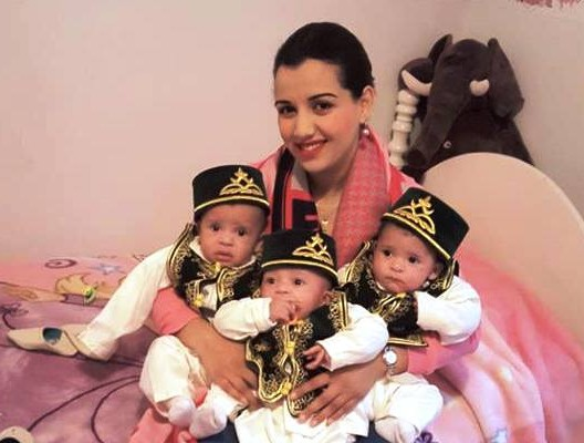 Moroccan Doctor Raises Funds for Triplets Whose Mother Died Giving Birth