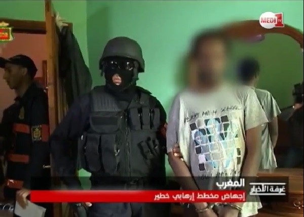 Moroccan Police Arrest Chadian terrorist