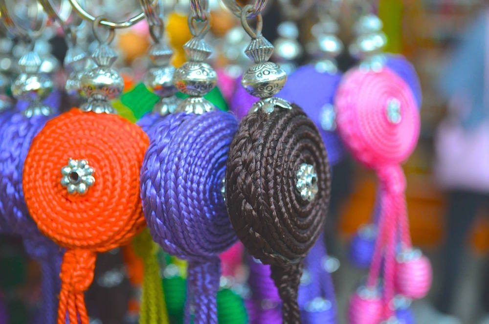 Moroccan souvenirs in the medina