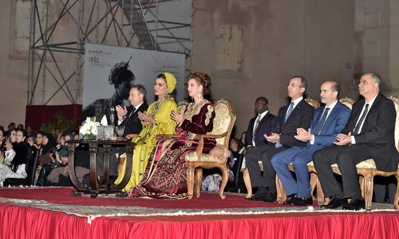 Princess Lalla Salma Chairs Opening Ceremony of 22th Fez Festival of World Sacred Music