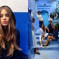 Russian Top Model Poses on Chefchaouen's Blue Streets