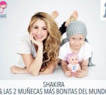 Shakira Teams Up with Charity to Sell Bald Dolls for Cancer Research