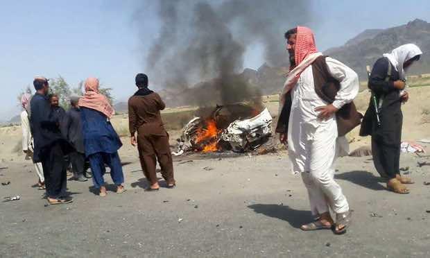 Taliban Leader Targeted by U.S. Drone Strike
