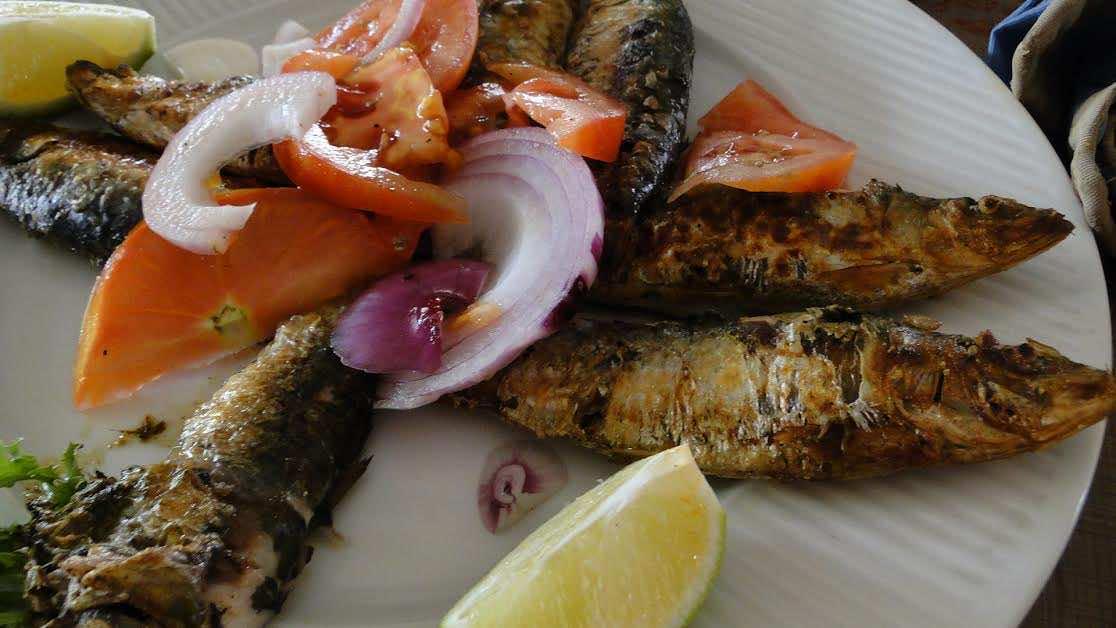 Taste the fresh sardines in Essaouira!