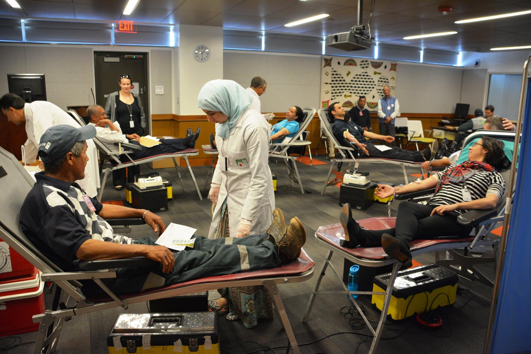 United States Embassy in Rabat hosts 15th Annual Blood Drive