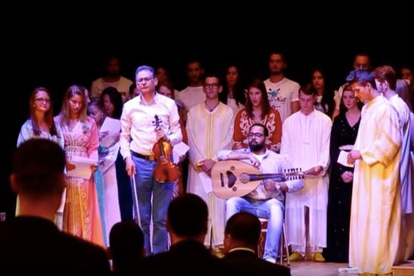 Video: American Students Sing the Moroccan Anthem