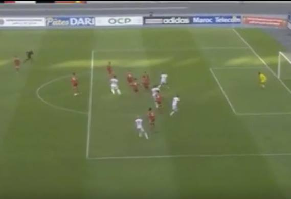 Video: Morocco's Hakim Ziyech's Fantastic Goal vs Congo