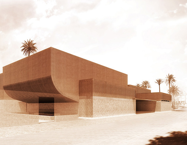 Yves Saint Laurent Museum in Marrakech Wins 2018 'AFEX' for its Architecture