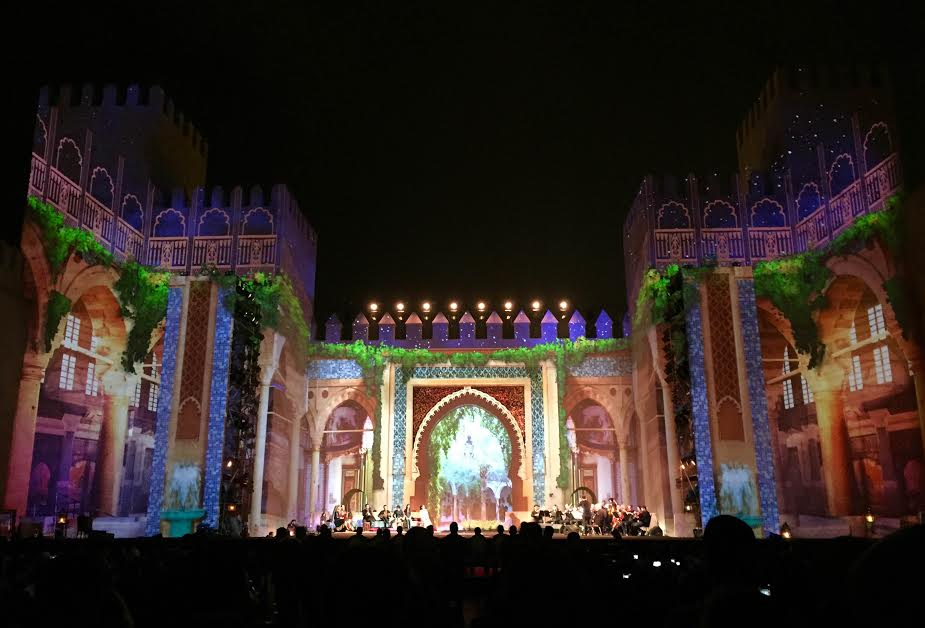 center stage at Bab Makina in Fes to kick off the 22nd annual Fes Festival Of World Sacred Music